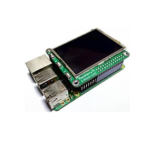 cocopar Raspberry Pi ラズベリーパイ に適応する 2.4インチ ディスプレイ タッチパネル+タッチペンRaspberry Pi ModelA+/B/B+ も適応 Designed for Raspberry Pi A+,Compatible with Raspberry Pi 2 module B/B+//B Support touch and camera
