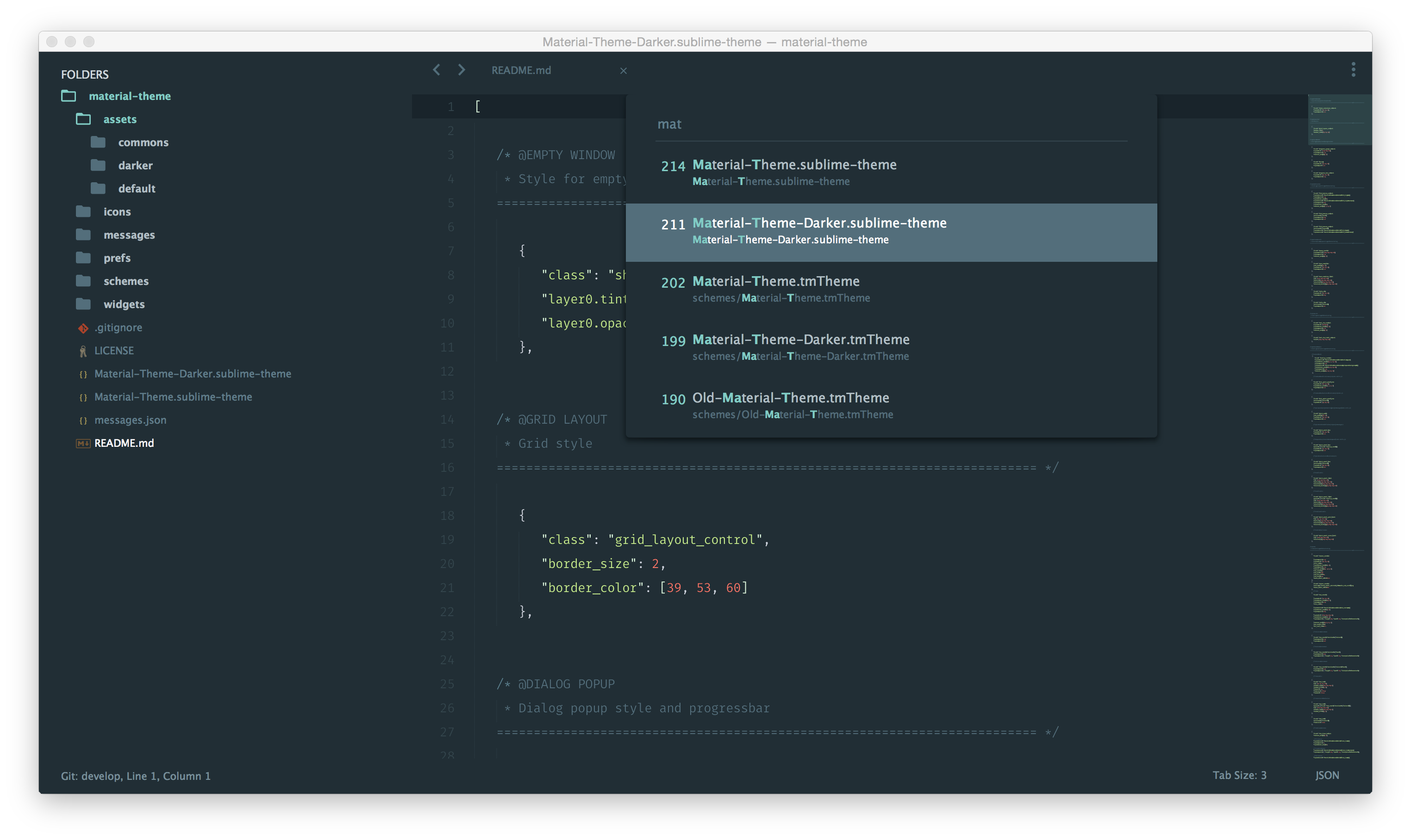 Material Theme Image