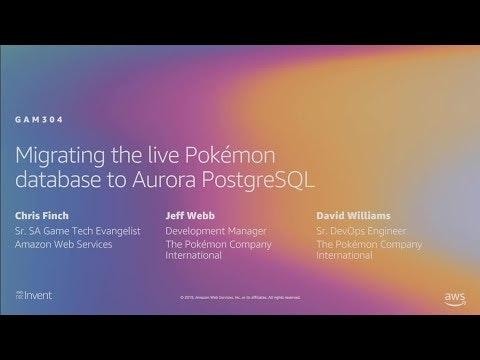 Migrating the live Pokémon database to Aurora PostgreSQL