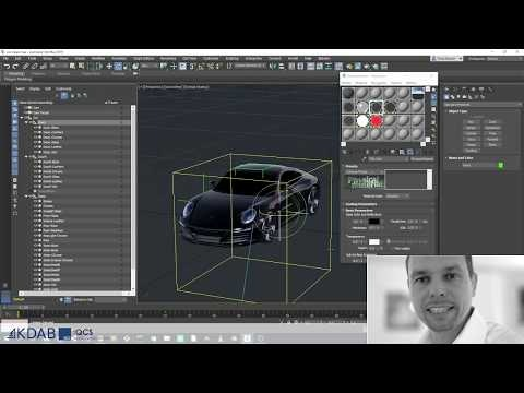 How to prepare Qt 3D assets for Kuesa with 3ds Max®