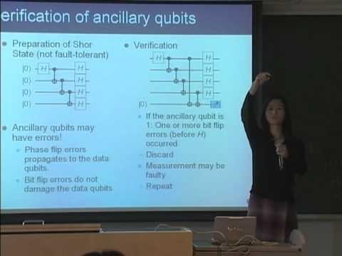 量子コンピュータ授業 #13 対故障量子計算 山口文子