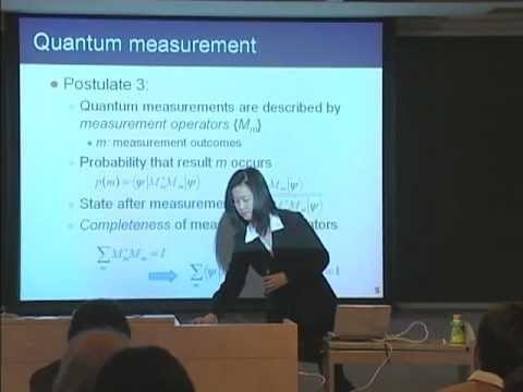 量子コンピュータ授業 #9 量子力学基礎 山口文子
