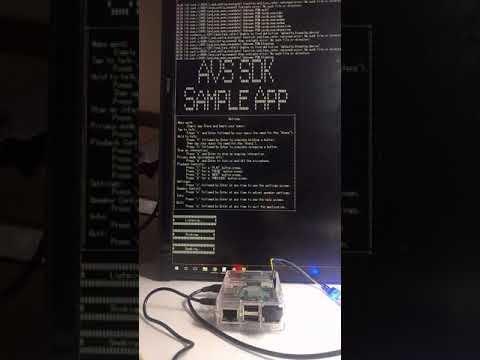 Alexa device SDK in Raspberry Pi3 (locale ja-JP)