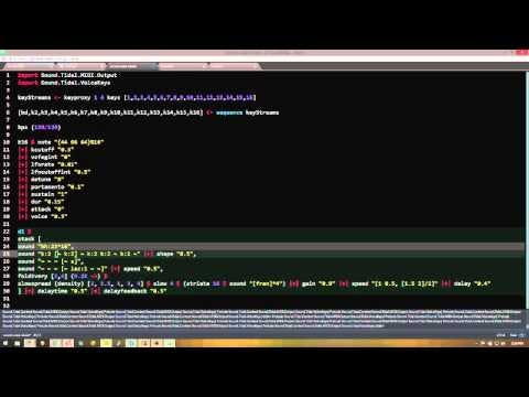 Live-coded music twitch.tv stream 2015-03-23