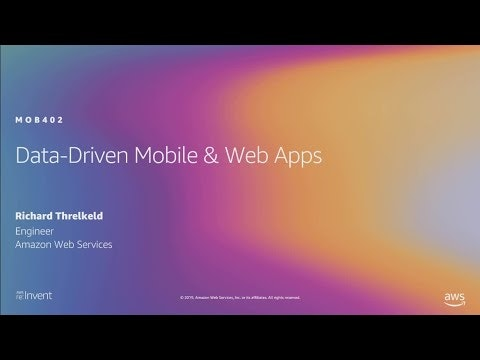 Build data-driven mobile and web apps with AWS AppSync