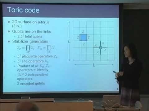 量子コンピュータ授業 #14 幾何学符号 山口文子