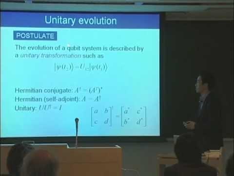 量子コンピュータ授業 #1 量子ビットと量子ゲート 阿部英介
