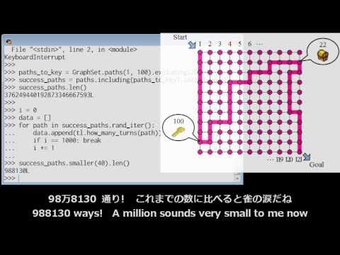 Graphillion: 数え上げおねえさんを救え / Don't count naively