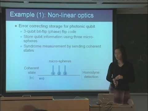 量子コンピュータ授業 #15 誤り自動訂正、抑制 山口文子