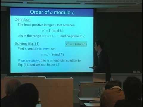 量子コンピュータ授業 #7 ショアの素因数分解アルゴリズム