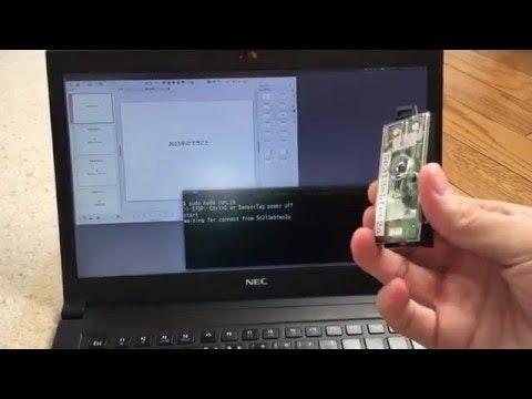 TI sensotTagをプレゼン用クリッカーに仕立て上げる (simpleKeyのみ)