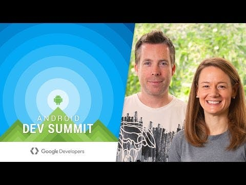Android Dev Summitキーノートでの紹介