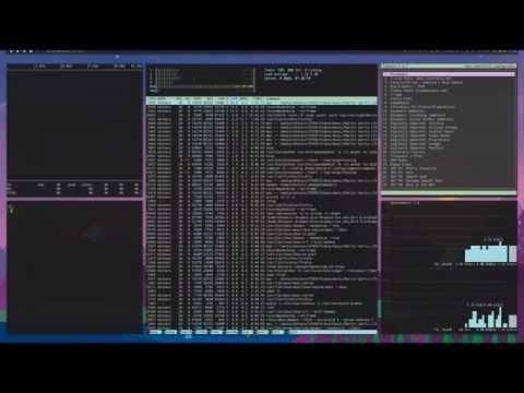 xmonad - tiling window manager running on Ubuntu Linux - YouTube