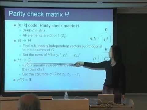 量子コンピュータ授業 #11 古典線形符号 山口文子