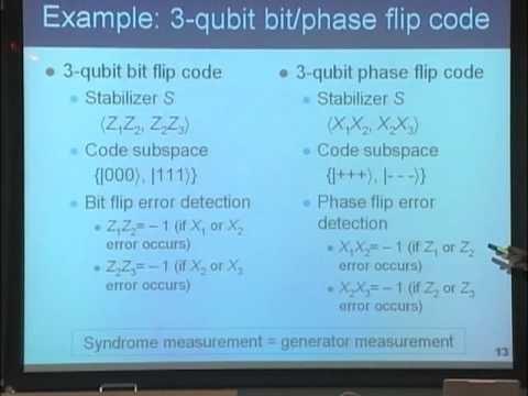 量子コンピュータ授業 #12 安定化符号 山口文子