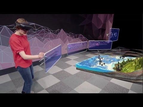 HoloLens2のイメージ映像