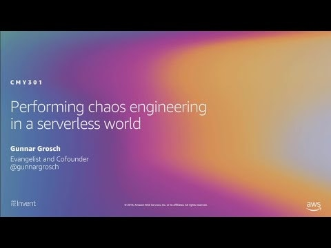 Performing chaos engineering in a serverless world