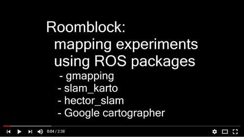 ROSとGazeboによる自律移動シミュレーション 〜SLAMアルゴリズムの比較