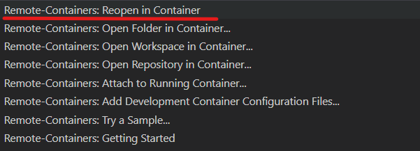 Reopen in containers