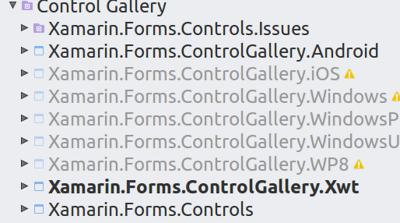 XwtベースのControlGalleryを追加