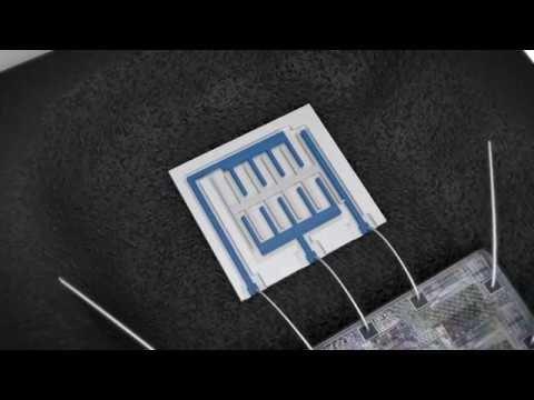 Bosch Working principle of an acceleration sensor