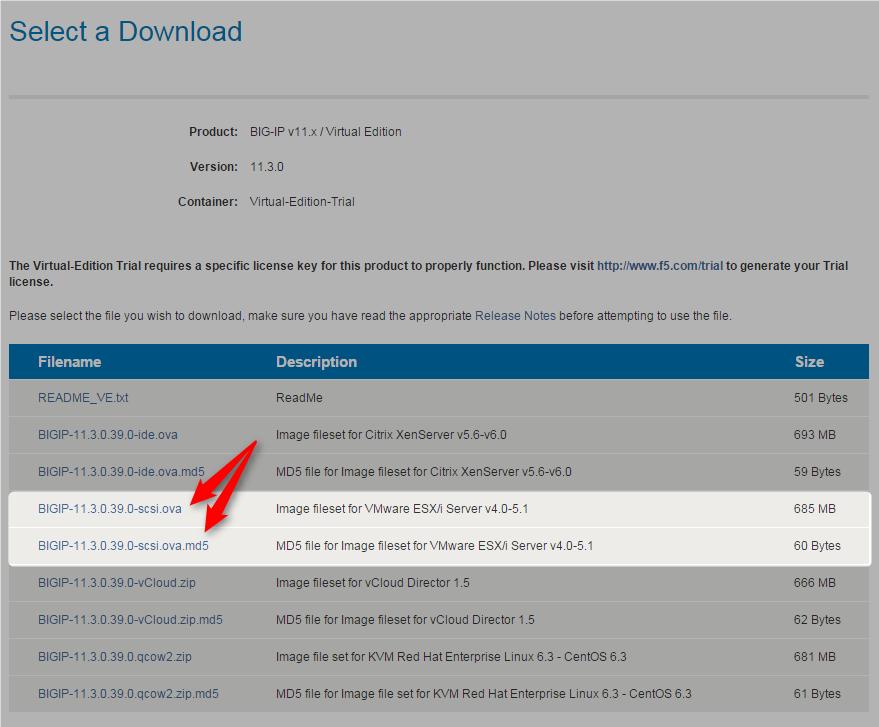 Download BIG-IP LTM Trial