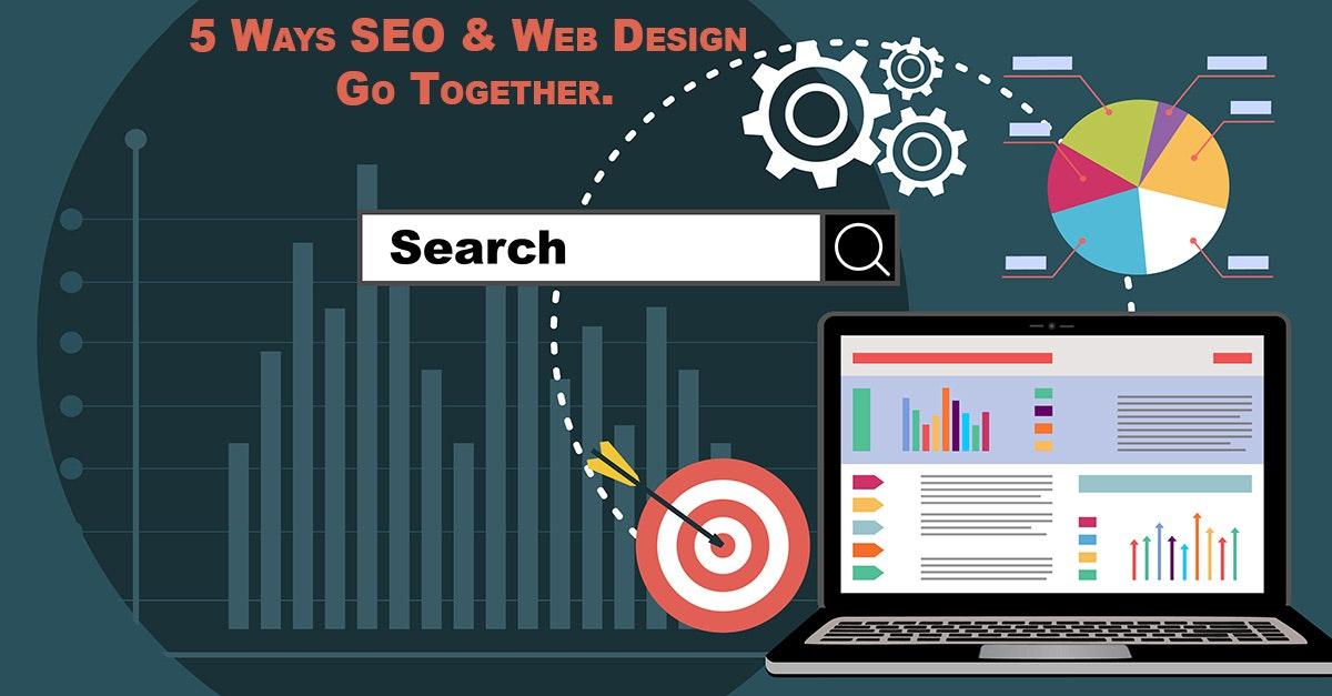 5 Ways SEO & Web Design Go Together.<br>