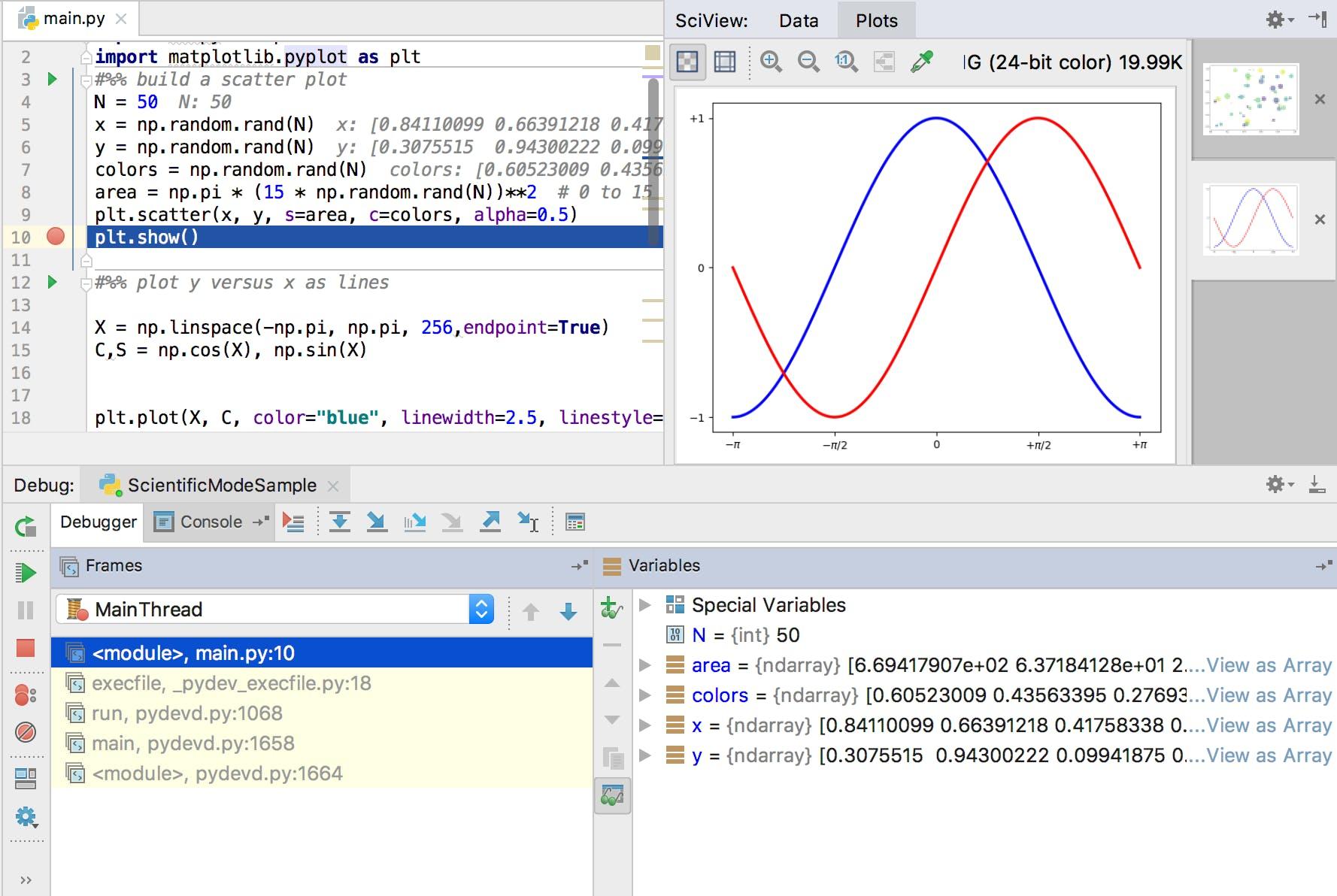 Pythonの開発環境をRstudioっぽくしてみよう - Qiita