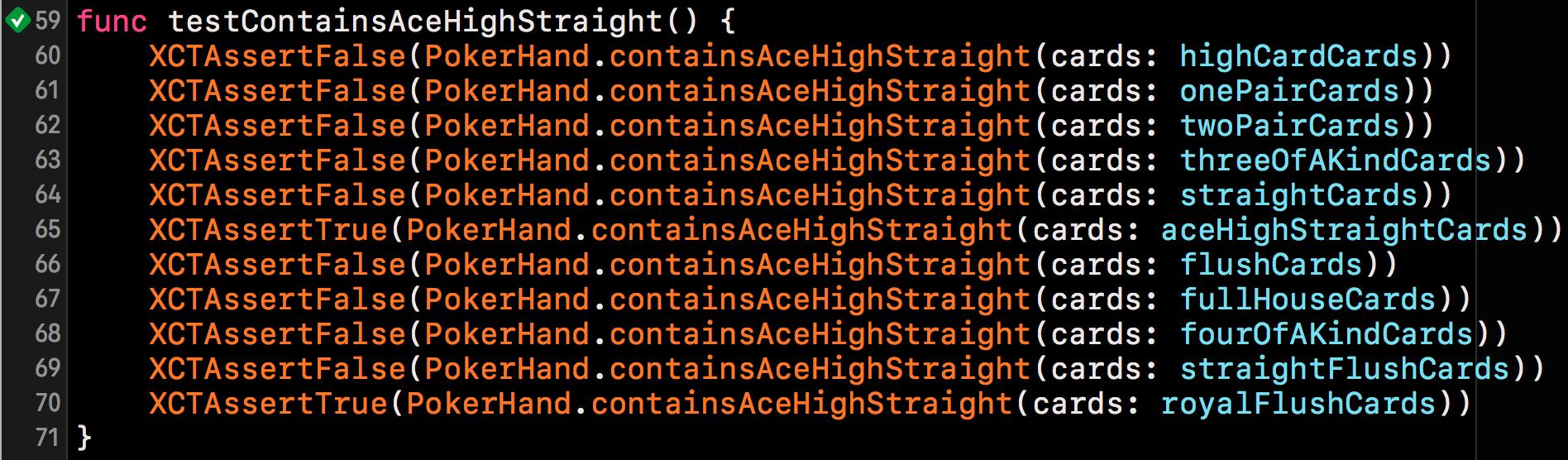 AceHighStraightテスト結果