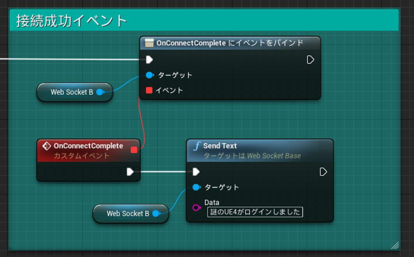 UE4×WebSocket(UEWebsocketプラグイン編) - Qiita