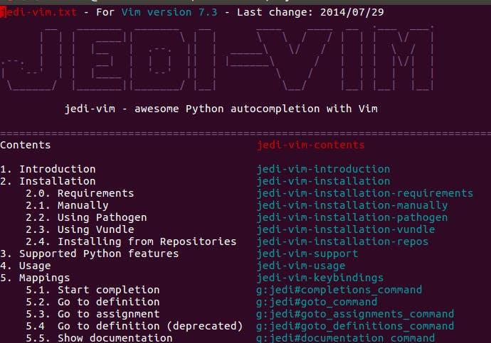 Vim Python Syntax