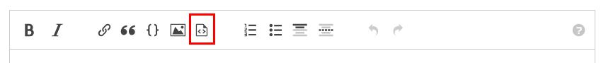 実行可能なコードブロックのエディタ