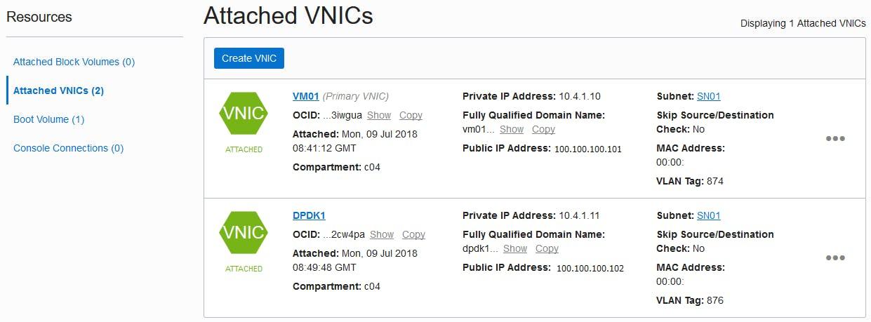 Oracle Cloud で DPDKをインストールしてみた - Qiita