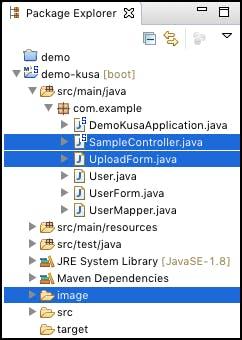 Spring Bootでファイルアップロード - Qiita