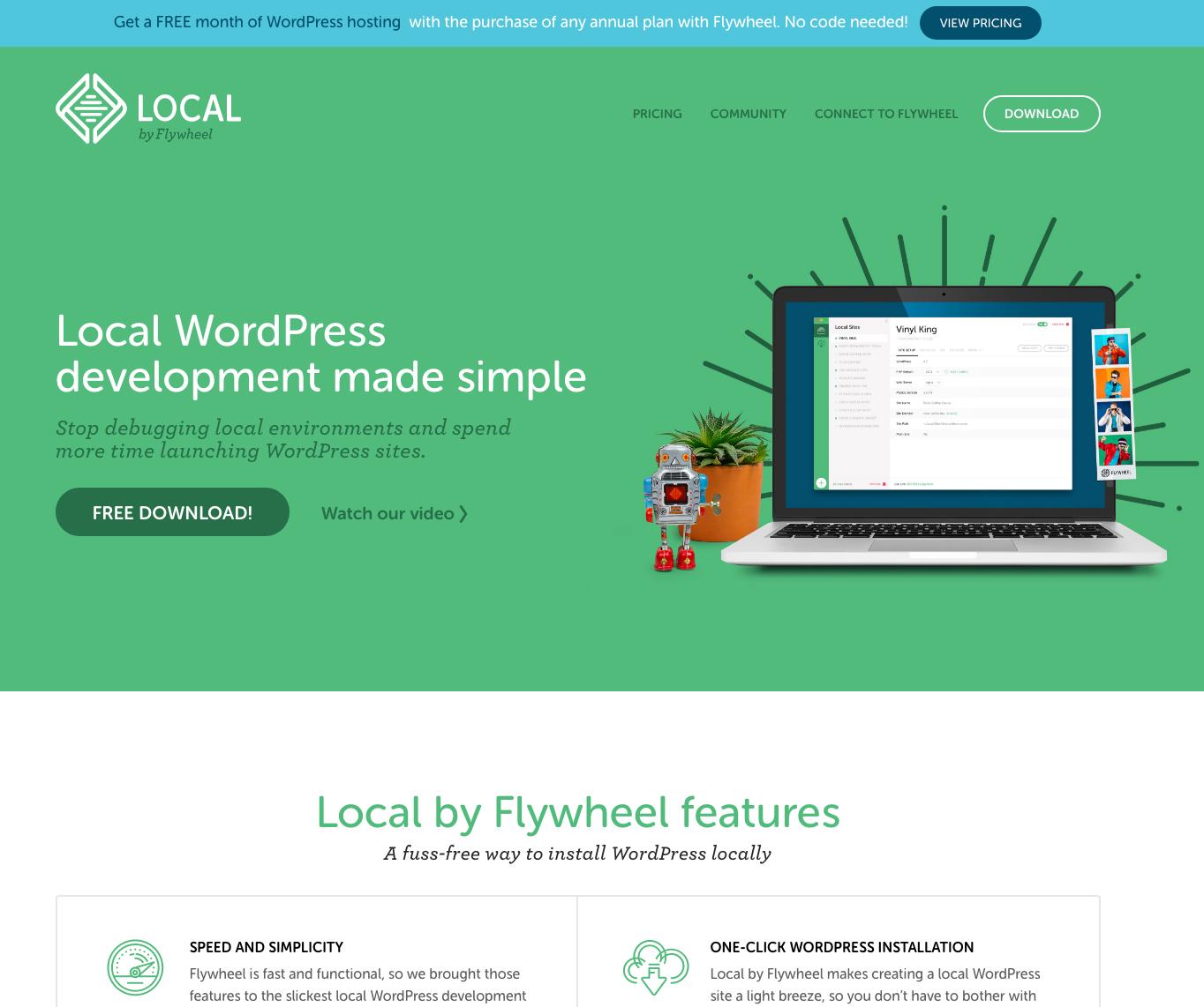 Local by Flywheel website img