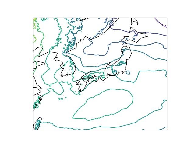 grib2をpython(matplotlib)で地図上で可視化 - Qiita