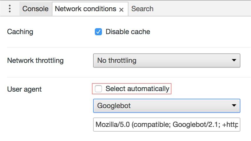 select automatically