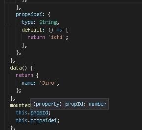通常関数、アロー関数それぞれの props