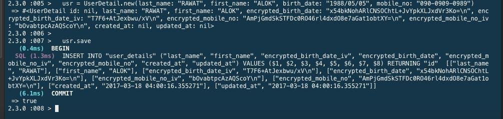 Rails Password Encryption