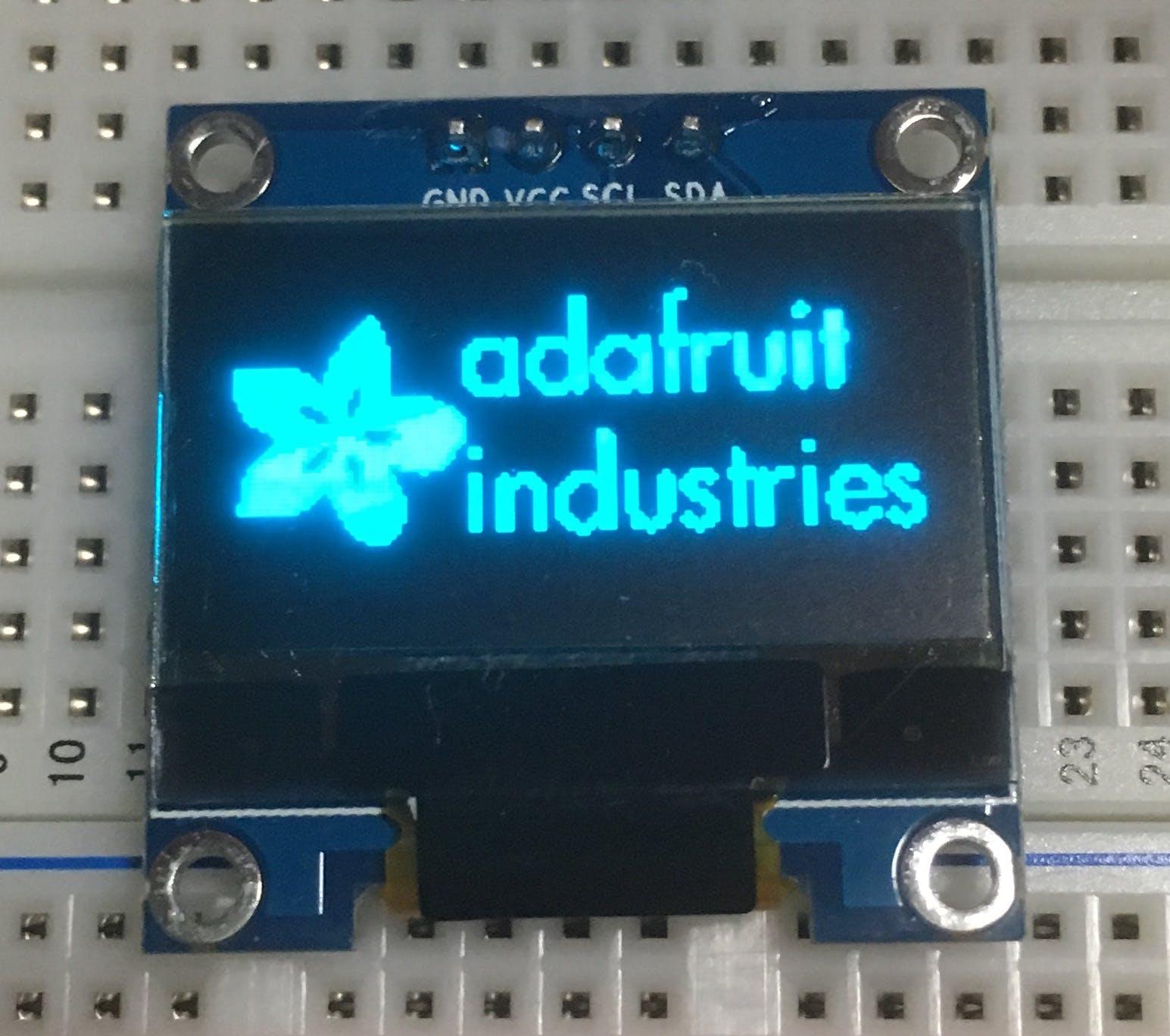 ArduinoでOLEDディスプレイを試す - Qiita