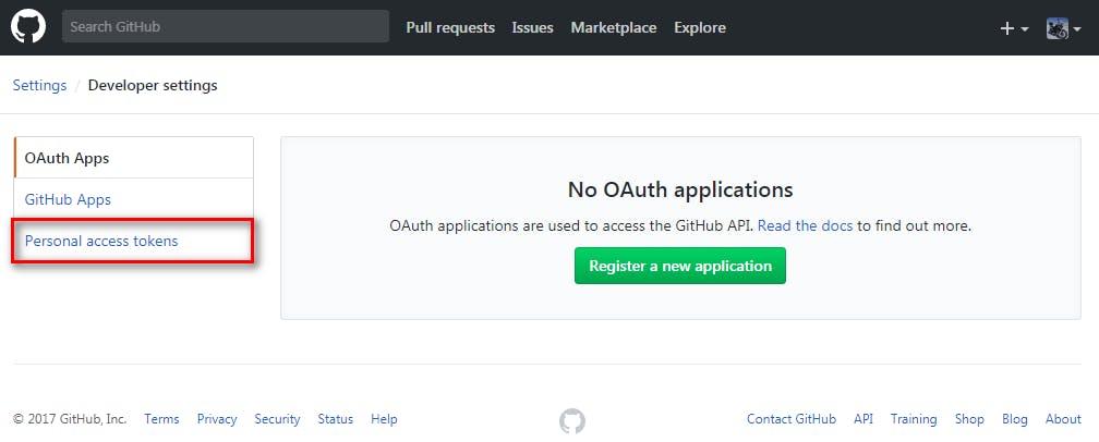 GitHub「Personal access tokens」の設定方法 - Qiita
