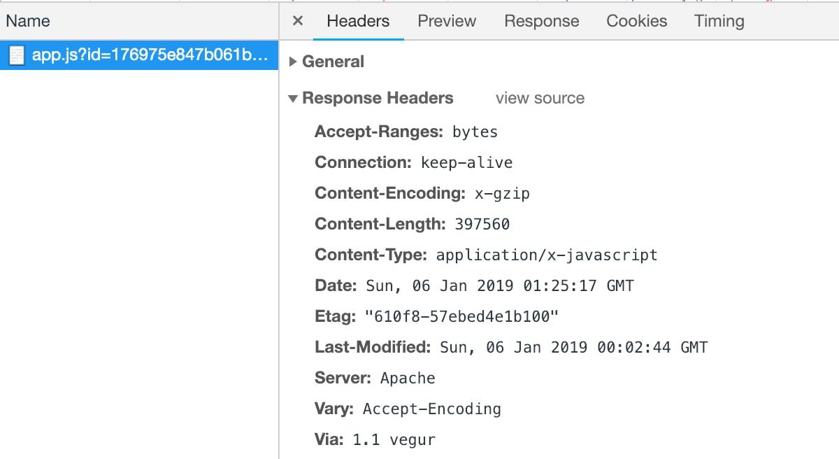 Apache(Heroku)+laravel+vue js環境下でgzip圧縮によるサイト