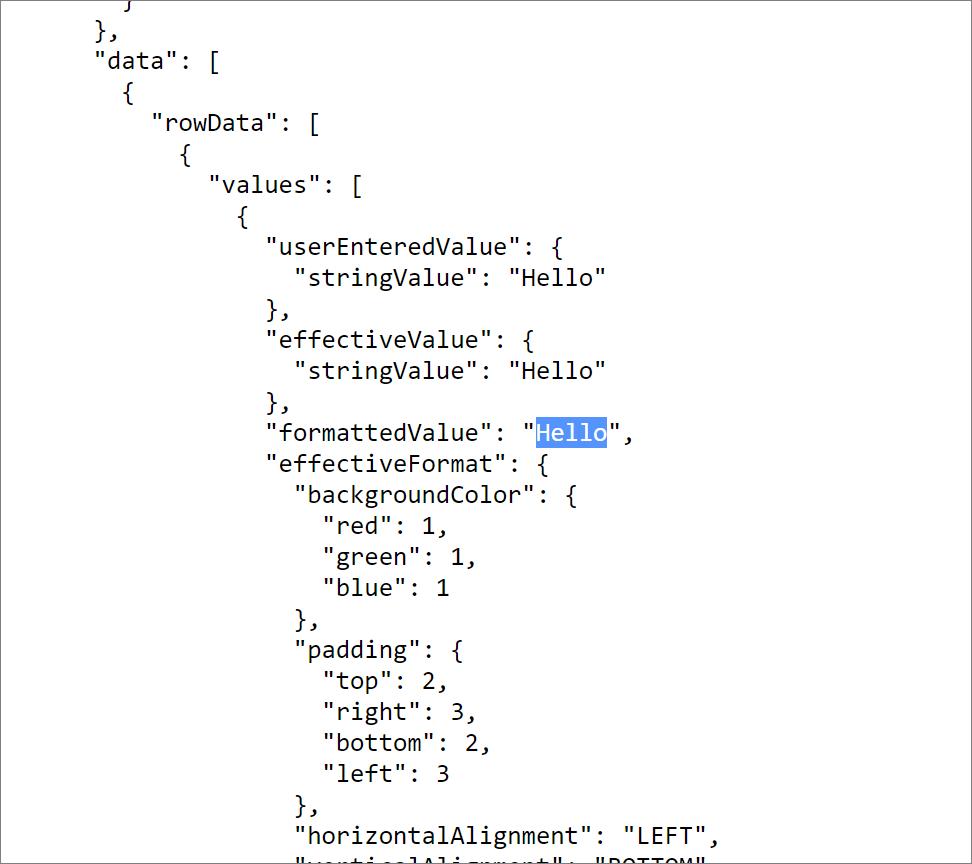 API結果画面