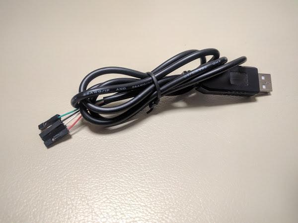 PL2303HX内蔵USBシリアル変換ケーブル