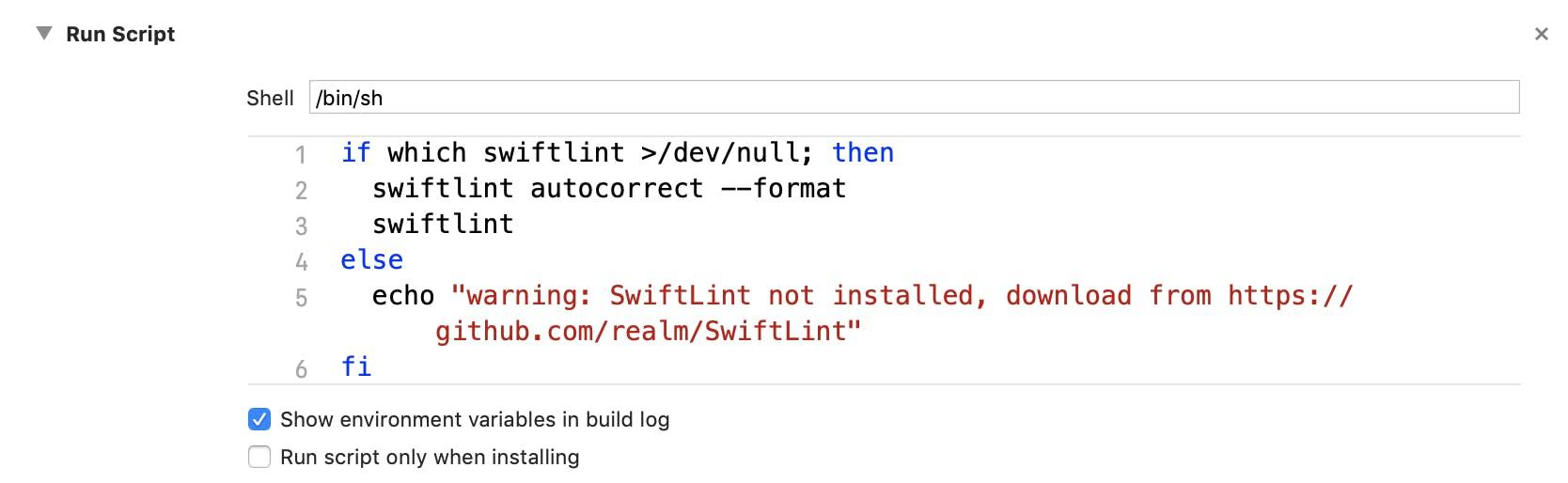 Swiftの静的解析ツール「SwiftLint」のセットアップ方法 - Qiita
