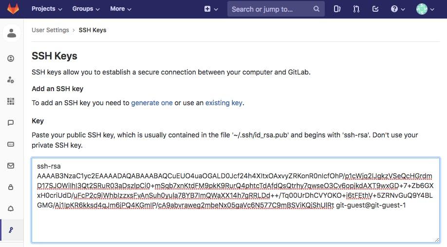 GitLabへのSSH接続時のOSユーザとGitLab上のMWユーザについて - Qiita