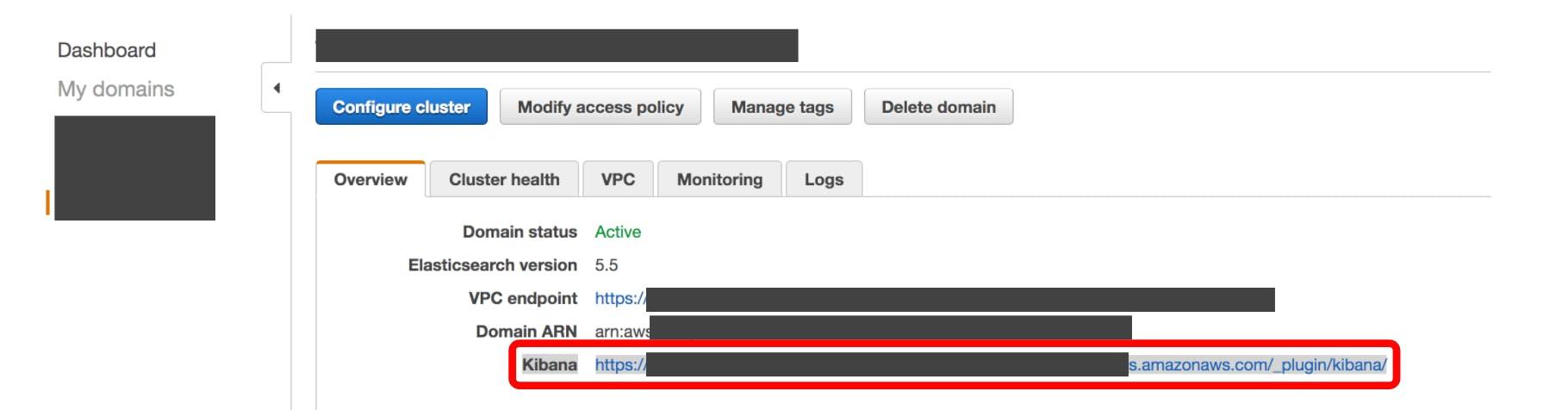 Amazon Elasticsearch ServiceのKibanaへ、SSH port forwarding