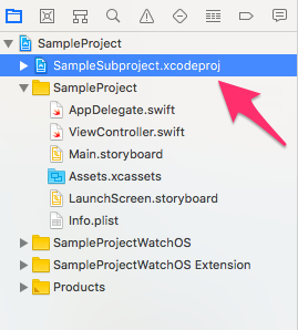 SampleSubproject_xcodeproj03.png