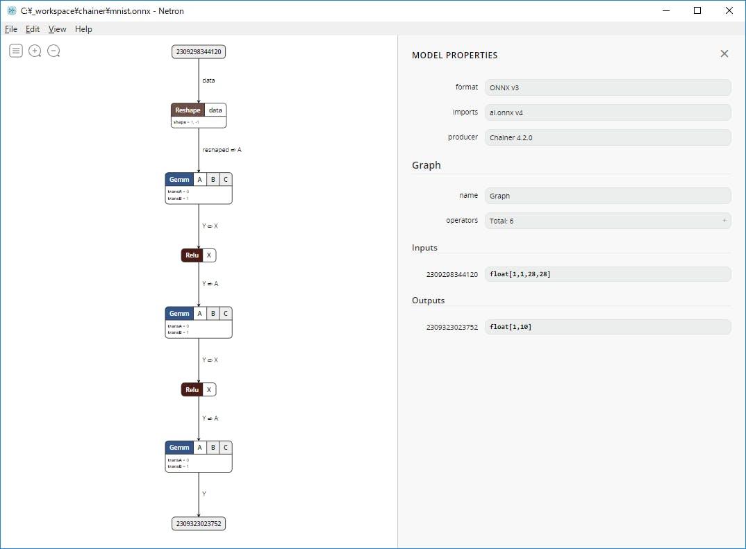 Windows環境にChainerとONNX-Chainerをインストールして動かしてみた - Qiita