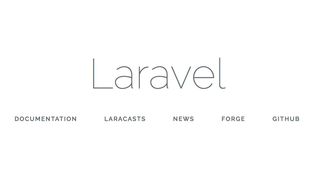Laravel初期画面